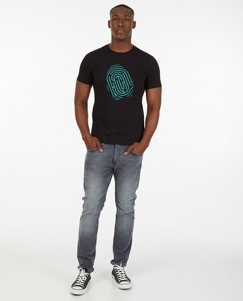 T-shirt noir De Mol, Studio Unique - personnalisable - De Mol