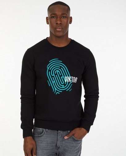 Zwarte De Mol-sweater, Studio Unique