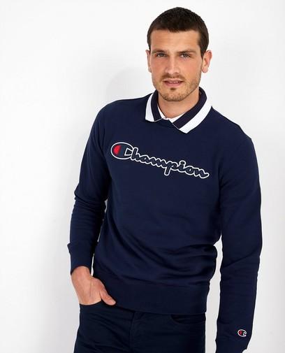 Blauwe sweater Champion
