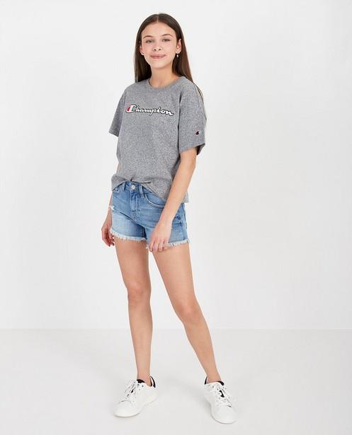 T-shirt gris Champion - custom fit - Champion