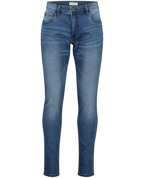 Blauwe skinny jeans Jimmy - stretch - Quarterback