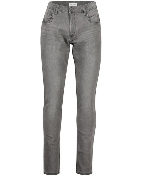 Grijze skinny jeans Jimmy - stretch - Quarterback