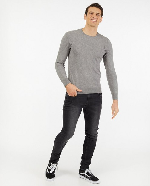 Jeans skinny noir Jimmy - stretch - Quarterback
