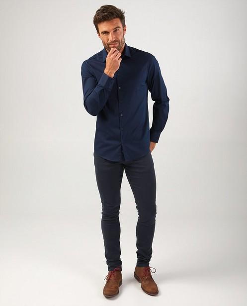 Pantalon bleu foncé Jimmy - stretch - Quarterback