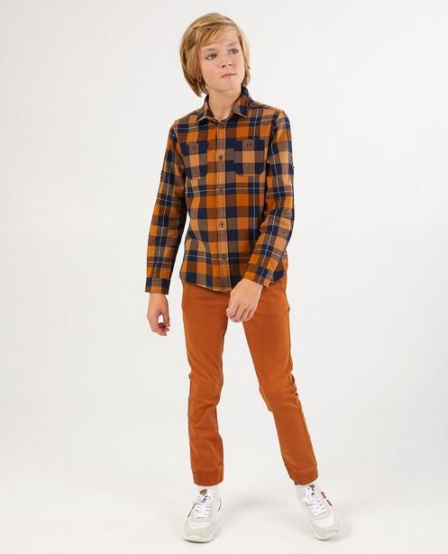 Pantalon brun BESTies, 7-14 ans - légèrement stretch - Besties
