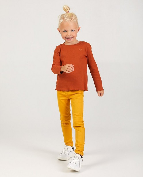 Pantalon jaune BESTies - stretch - Besties