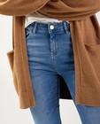 Jeans - Skinny bleu Sora - high rise