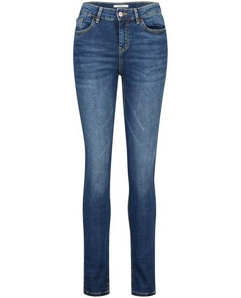 Blauwe slim jeans Sora - met hoge taille - JBC