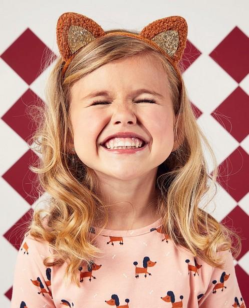 Bonneterie - Diadème brun avec de petites oreilles BESTies