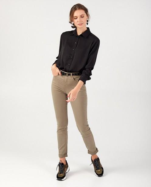 Pantalon gris vert Sora - slim fit - stretch - JBC