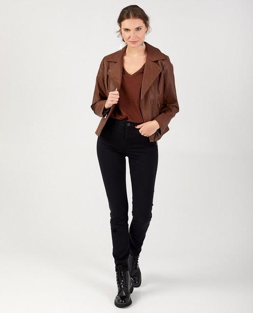 Pantalon noir Sora - slim fit - stretch - JBC