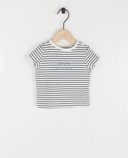 Wit unisex T-shirt, Studio Unique