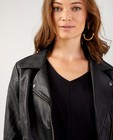 Blazers - Zwarte jas in faux-leather Sora