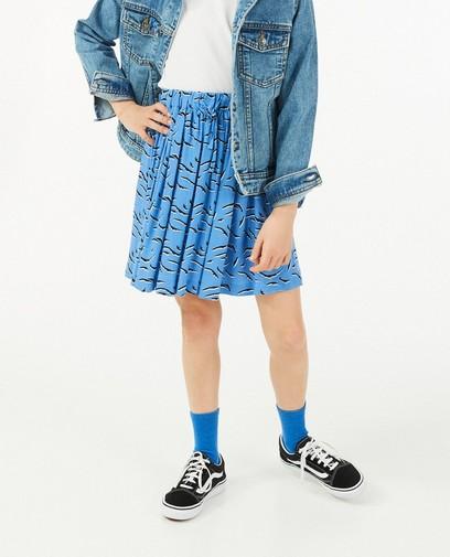 Blauwe rok van EcoVero viscose I AM