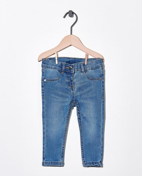 Blauwe jeans met stretch - van denim - Cuddles and Smiles