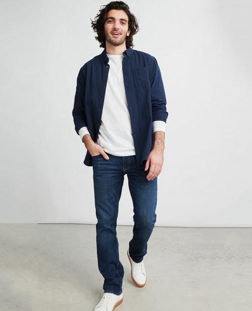 Blauwe straight jeans Brandon - fitted straight - JBC