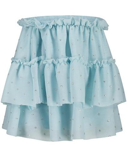 Lichtblauwe rok van tule K3