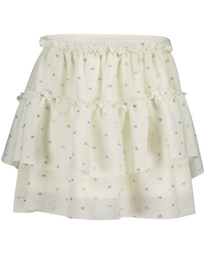 Witte rok van tule K3