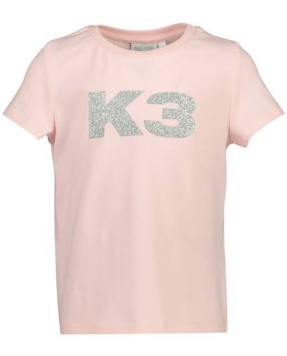 Roze T-shirt met glitter K3