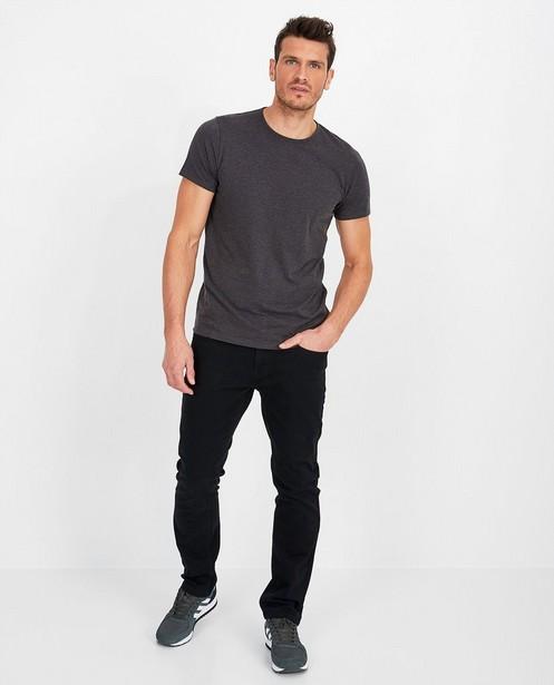 Regular jeans in zwart - Danny - met medium waist - JBC