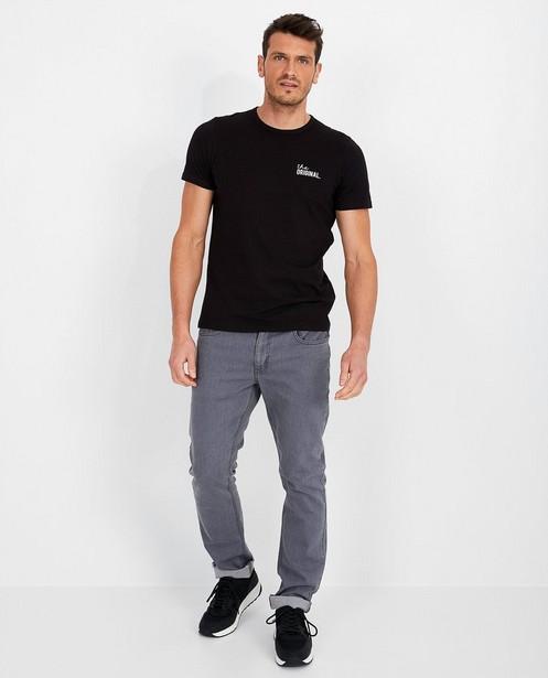 Jeans regular gris  - Danny - medium waist - JBC