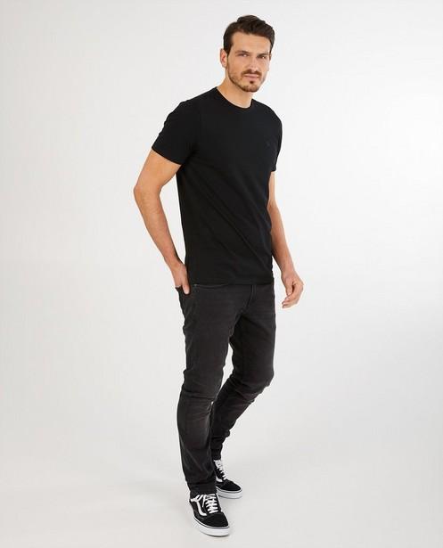 Zwarte slim jeans Smith - met wassing - JBC