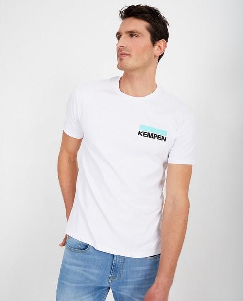 T-shirt blanc unisexe KEMPEN™ - à inscription - Kempen