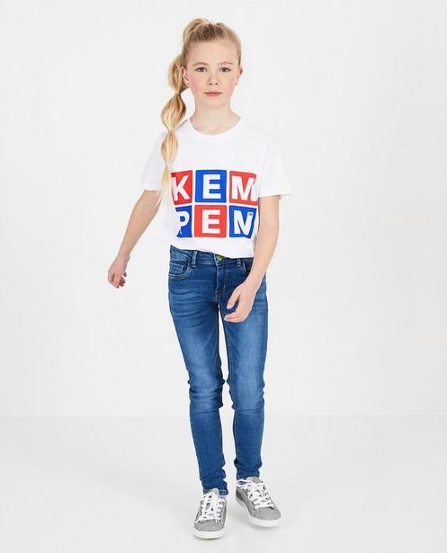 Wit unisex T-shirt KEMPEN™ - in wit - Kempen