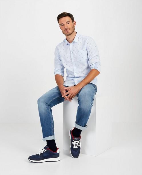Lichtblauwe slim jeans - Twister - bevat lycra - Blend