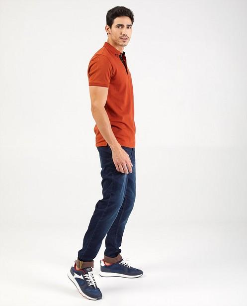 Donkerblauwe slim jeans - Jet - met stretch - Blend
