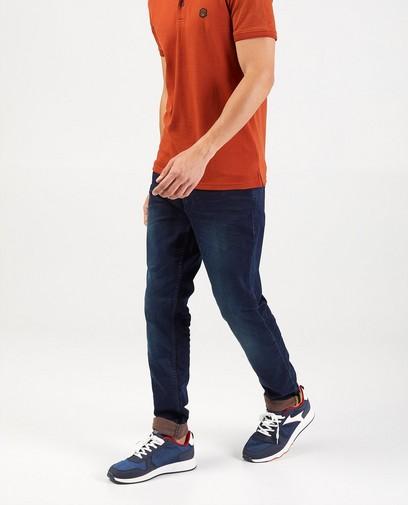Donkerblauwe slim jeans - Jet