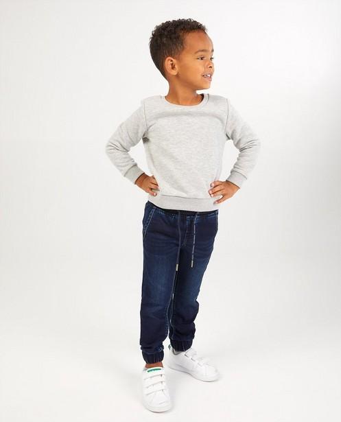 Jeans bleu en sweat denim - avec bord élastique - Kidz Nation