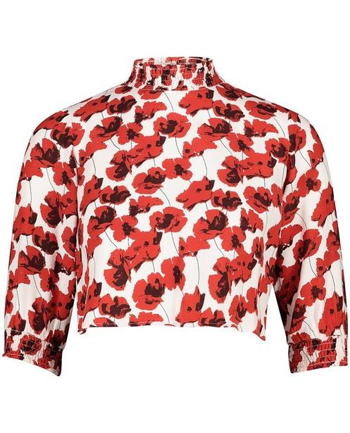 Witte blouse met bloemen Cost:Bart - allover - Cost:Bart