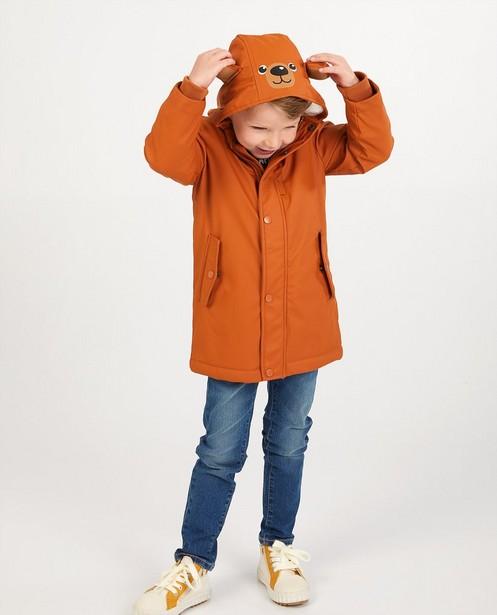 Imperméable brun - ours - manteau en caoutchouc - JBC