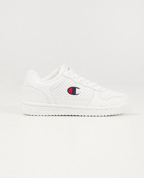 Witte Champion-sneakers, 33-39 - met gestipt detail - Champion