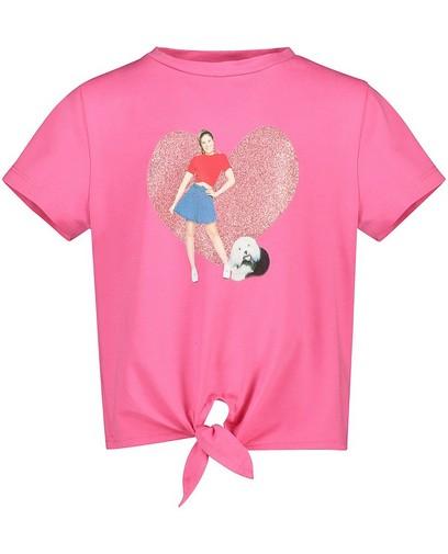 T-shirt rose Samson et Marie