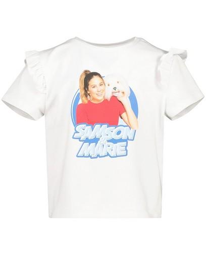 T-shirt blanc Samson et Marie