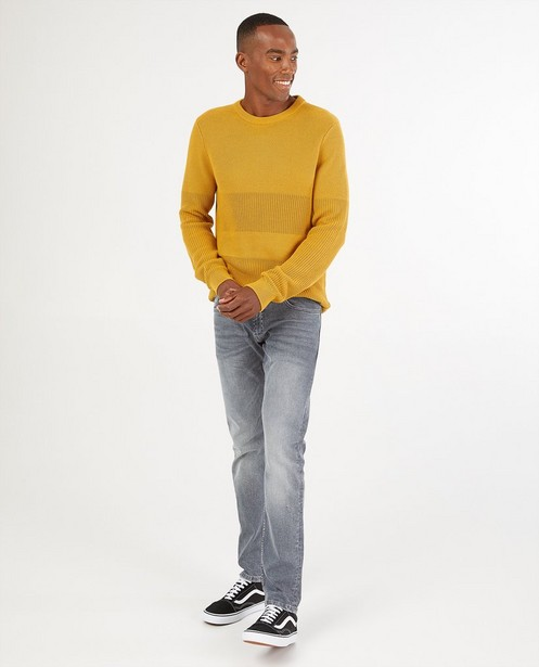 Jeans slim gris Rick - stretch - S. Oliver