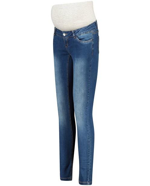 Blauwe slim fit jeans Mamalicious - zwangerschap - Mamalicious
