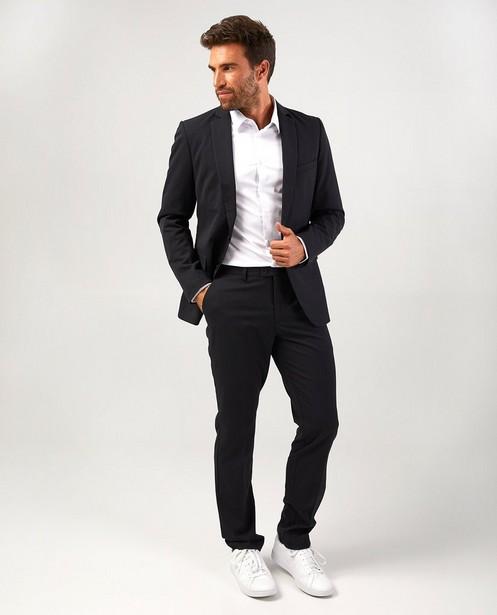 Veste de costume noire avec micro-imprimé - élégante - Iveo