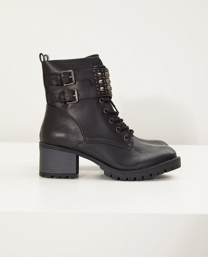 Zwarte laarzen, maat 36-41