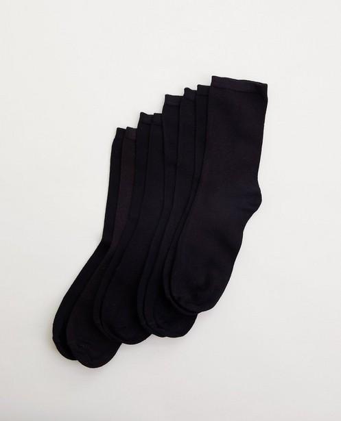 Ensemble de 4 paires de chaussettes - en noir - Pieces
