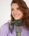 Gebloemde sjaal met metaaldraad - allover - Sora