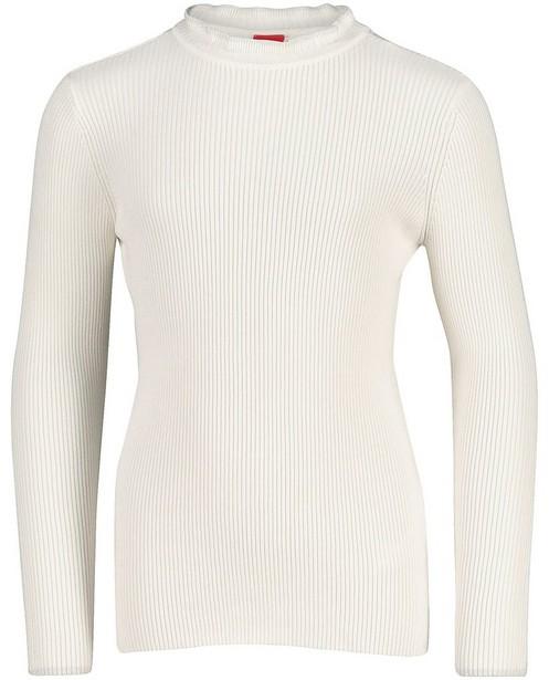 Witte trui met ribreliëf s.Oliver - met metaaldraad - S. Oliver