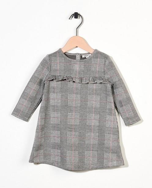 Robe grise à imprimé - imprimé intégral - Cuddles and Smiles