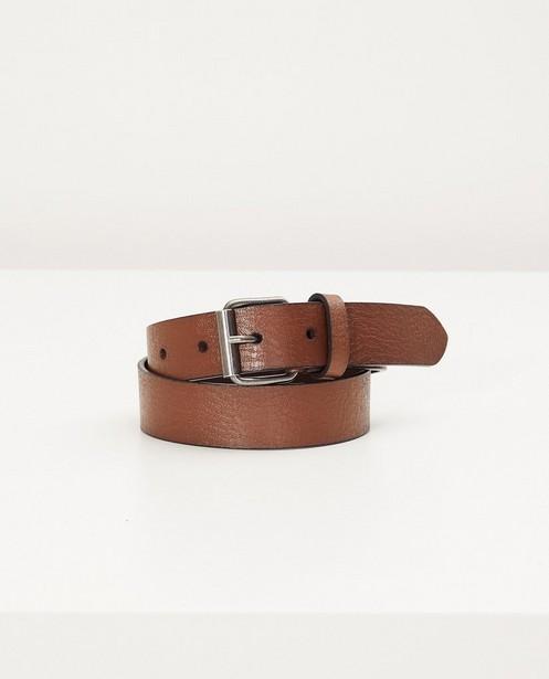 Ceinture brune - en croûte de cuir - JBC