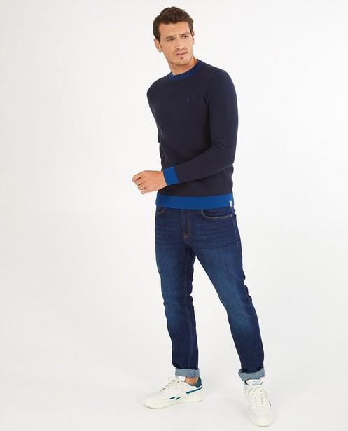 Pull tricoté avec imprimé - imprimé intégral - Quarterback