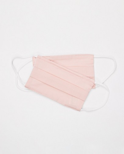 2 masques rose pâle - unisexe
