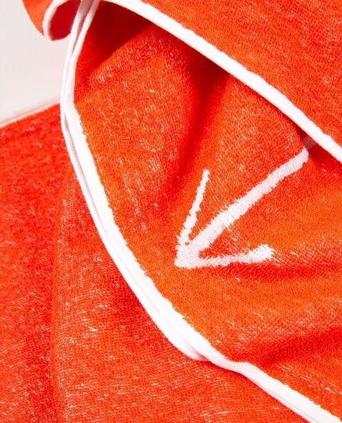 Breigoed - Oranje corona-proof strandhandoek