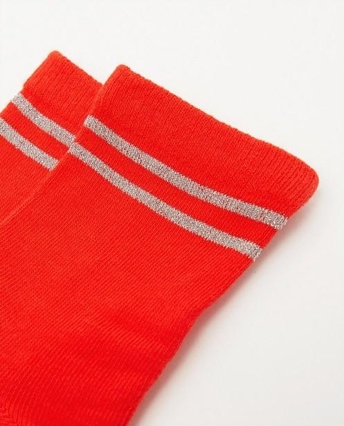 Chaussettes - Witte kousen met opschrift